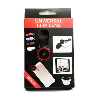 Selfie stick fisheye lens red $6.90