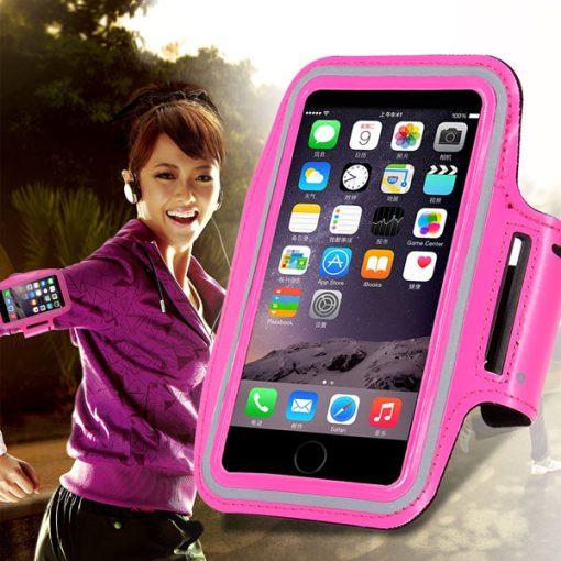sports armband case (big) pink $7.90