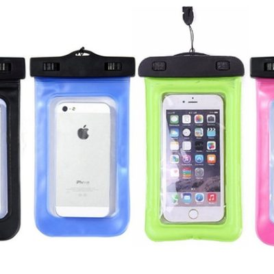 Water resistant phone case