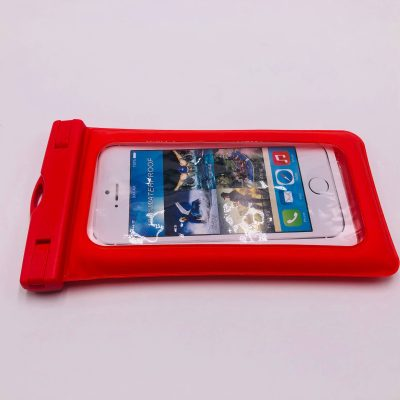 waterproof-bag-phone-red