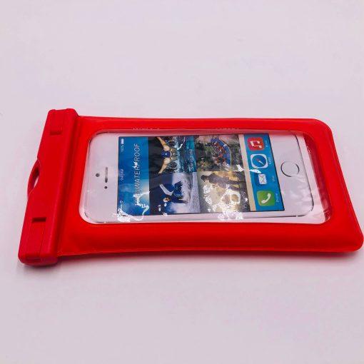 waterproof-bag-phone-red