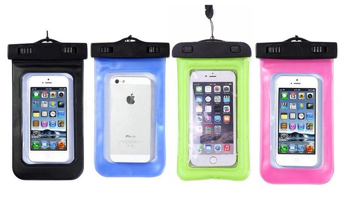 wholesale dealer 684df a28ab Water resistant phone case pink